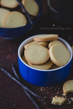 Ciasteczka maślane z wanilią - Modern Taste - fotografia kulinarna i przepisy
