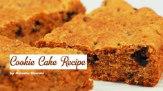 Cookie Cake Recipe Eggless Chocolate Chips Cookie Cake Lunch Box Teatime Dessert Cookie Recipe