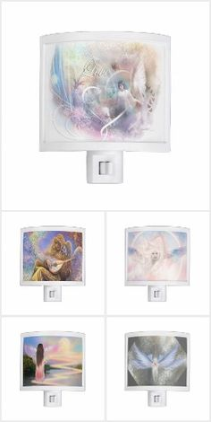 Spiritual Metaphysical Guardian Angel Night Lights