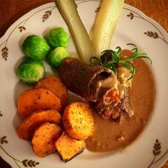 Oxrullader - Frallans Matblogg Lchf, Hummus, Cooking Recipes, Meat, Chicken, Ethnic Recipes, Food, Google, Homemade Hummus