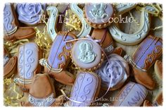 Decorated Rodeo Cowgirl Assorted Shortbread by TheTailoredCookie
