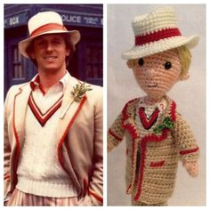 5th Doctor crocheted