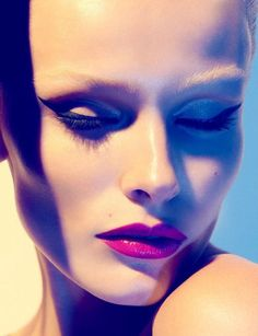 """Edita Vilkeviciute in """"Stardust"""" Photographed By Camilla Akrans - David Bowie inspired shoot Ziggy Stardust. ADORE"""