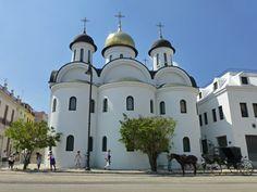 Catedral Ortodoxa Rusa Nuestra Señora de Kazán, en La Habana, Cuba