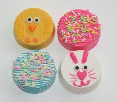 Chocolate Covered Easter Oreos!