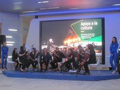 Orquesta de Sonidos Reciclados ofreció un gran concierto en el stand de Petrobras