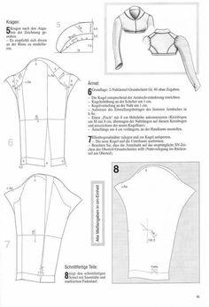 Costume Patterns, Doll Clothes Patterns, Clothing Patterns, Historical Costume, Historical Clothing, Regency Dress, Regency Era, Diy Kleidung, Vintage Mode