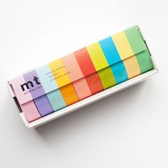 MT Masking Tape Washi Tape Set - 10P Light Colours from Fox and Star