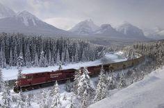 Del este al oeste de Canadá. Canadian Pacific Railway, el ferrocarril que enlaza Montreal, en Quebec, y Vancouver, en la Columbia Británica
