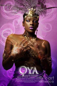 African Mythology, African Goddess, Oshun Y Yemaya, Oya Orisha, Oya Goddess, Yoruba Orishas, Afro, Chica Gato Neko Anime, Goddess Names