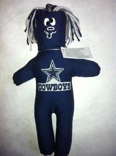 Dallas COWBOYS Dammit Doll Frustration Stress NFL