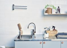 A good utility room makes life easier. Oras Safira faucets for utility room: 1039, 1074X Visit: http://www.oras.com/en/products/oras-safira/product/1039/ for more details.