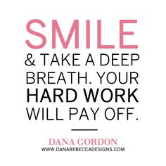 Dana's advice to her 23-year-old self. What's yours? #inspiration #Quote
