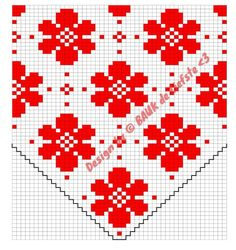 Fair isle pattern Flower Dot - made by Bauk*