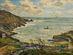 Samuel John Lamorna Birch - Lamorna Cove (1951)