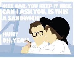 Annie Hall (1977) ~ Movie Quote Poster by Mike Oncley #amusementphile