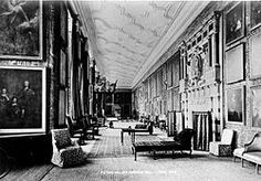 18th and 19th Century: What are House Thoroughfares? Vestibules, entrance halls, corridors, galleries, saloons, etc.
