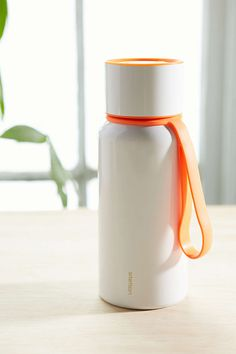 Click-Top Stainless Steel Water Bottle
