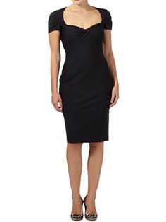 Debut @ debenhams black dress with sweetheart neckline £16.99 RRP £99 at offttherailsoutlet.co.uk