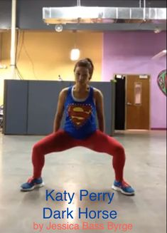 "Dance workout to Katy Perry's ""Dark Horse.""  #Burn. Oh yes. This is happening."