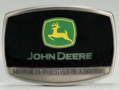 "John Deere Logo ""NRLD"" Belt Buckle"