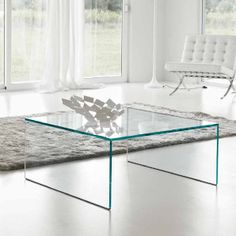 Wondrous Contemporary Glass Square Coffee Table for The house Terrific Contemporary Living Room Furniture, Glass Furniture, Furniture, Table, Glass Coffee Tables Living Room, Glass Coffee Table, Furniture Design Modern, Coffee Table, Coffee Table Styling