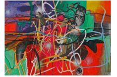 """""""Ausgänge"""", 1998; © Albert Oehlen"""