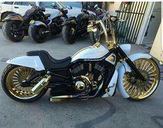 Harley Davidson News – Harley Davidson Bike Pics Hardtail Mountain Bike, Harley V Rod, Harley Bikes, Harley Wheels, Bagger Motorcycle, Motorcycle Style, Custom Street Bikes, Custom Bikes, Vw Beetles