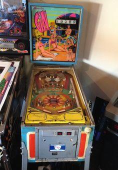 """1974 Gin """"Chicago Coin """" Pinball Machine"""