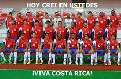 Selección de Costa Rica Brasil 2014