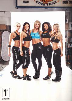 Left to right : Karen Chapman, Leah Hill, Jenna Fail, Chelle Lynne, Stacy McCloud #1stphorm #legionofboom #neversettle #fitness #health #nutrition #motivation