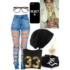 Untitled #132 by jordynchaput on Polyvore featuring polyvore, fashion, style, Vans and H&M