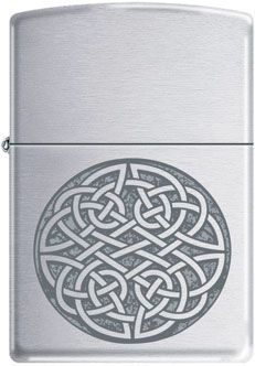 Celtic Knot Zippo Lighter