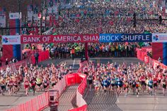 TAKE YOUR MARK | Ditch your treadmill and hit the streets for the Bank of America Shamrock Shuffle 8K this Sunday, March 27th.