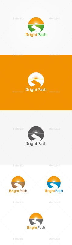 Bright Path Logo  EPS Template • Download ➝ https://graphicriver.net/item/bright-path-logo/9966323?ref=pxcr
