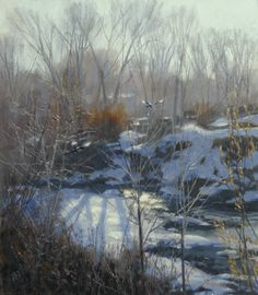 2003-creek_bottom_impression.VALOY EATON Midway Utah artist