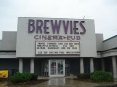 Brewvies Cinema & Pub - Salt Lake City, Utah. Saw The Campaign here (Will Ferrell) - Hilarious.  September 7, 2012