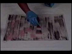 efeito de pintura : video pátina