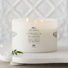Blossom Citronella Candle
