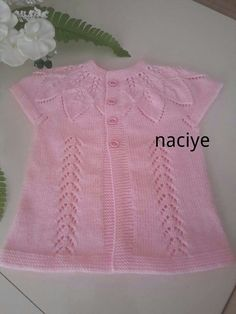 Quick and Easy Picture Sharing Upload pictures Share pictures Quick Res Serpil Kky Crochet Baby Jacket, Knit Baby Dress, Knit Crochet, Baby Knitting Patterns, Knitting Stitches, Knitting Socks, Diy Crafts Knitting, Knit Vest Pattern, Baby Coat