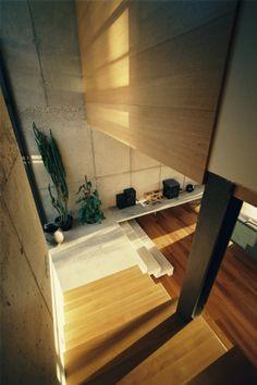 Interior aspect of Villa P in Slovakia by Architektonicke Studio Atrium