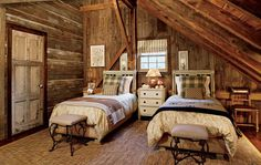 New Rustic : Interiors + Inspiration : Architectural Digest