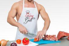 Persönliche Grillschürze für echte Grillmeister - ideal zum #Vatertag! #fotoCharly