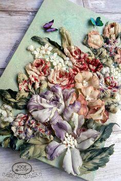 Fabric rose in sospeso trasparente technic