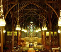 Tiffany Interior: St. Paul's, Troy, NY via Friends of St Pauls | Troy, NY | GALLERY