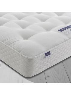 Buy Silentnight Sleep Soundly Miracoil Ortho Mattress, Firm, Super King Size from our View all Mattresses range at John Lewis & Partners. Spring Design, Mattress Protector, Recycle Plastic Bottles, Spare Room, About Uk, King Size, Cool Stuff, Stuff To Buy, Bedroom Furniture