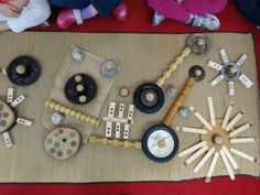 Inspired Montessori and Arts at Dundee Montessori: Free Form Wheel Designs