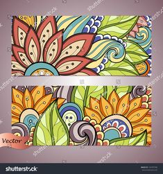 Find Vector Set Floral Banner Place Text stock images in HD and millions of other royalty-free stock photos, illustrations and vectors in the Shutterstock collection. Thousands of new, high-quality pictures added every day. Mandala Art, Mandala Design, Mandala Drawing, Art Mural Floral, Floral Wall, Mural Wall Art, Diy Wall Art, Garden Mural, School Murals