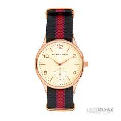 Adora Design Damenuhr Red-Black 8733 @Goldhaus