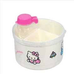 Sanrio Hello Kitty Baby Powdered Milk Formula Dispenser. BPA Free, (hello kitty baby, board game, hello kitty, powders)